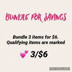 Other - Bundle for savings